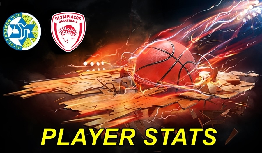 Maccabi-Olympiacos Player Stats