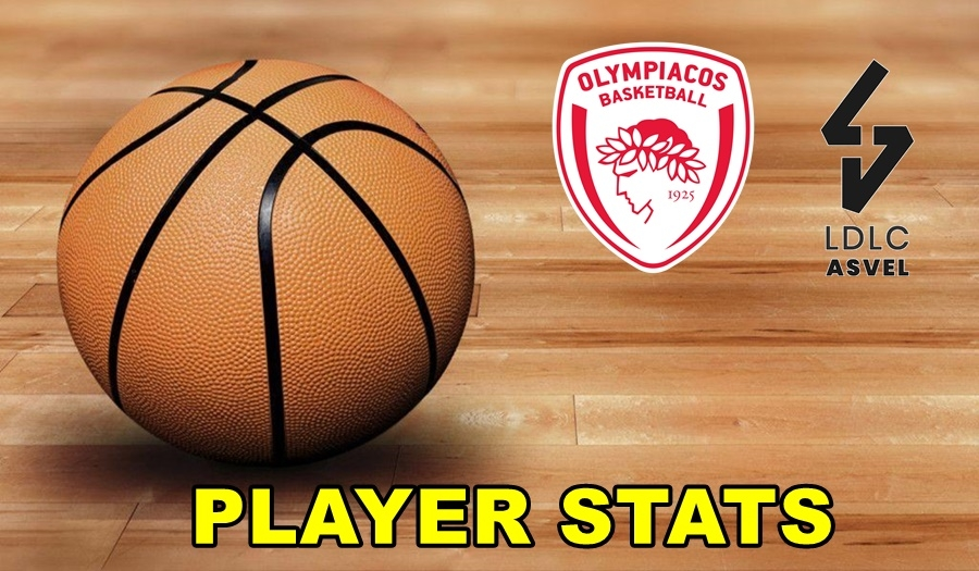 Olympiacos-Villeurbanne Player Stats
