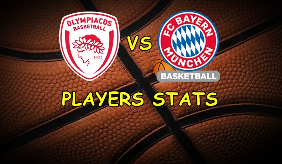 Olympiacos-Bayern Players Stats