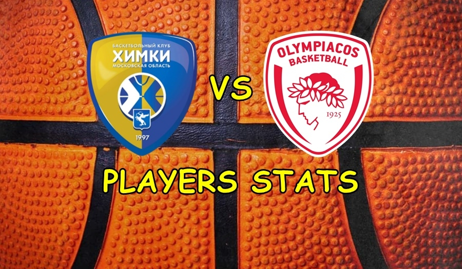 Khimki-Olympiacos Players Stats